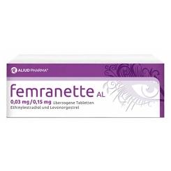 FEMRANETTE AL 0,03 mg/0,15 mg
