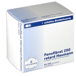 Fenofibrat 250 retard Heumann Kapseln