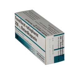 Fenofibrat ratiopharm 250 mg Retardkapseln