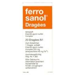 Ferro Sanol Dragees