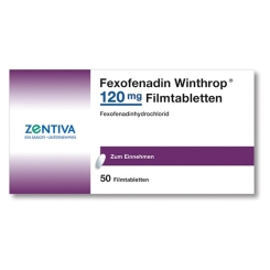 FEXOFENADIN Winthrop 120 mg