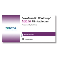 FEXOFENADIN Winthrop 180 mg