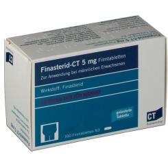 Finasterid - CT 5 mg Filmtabletten