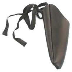 Fingerling Leder mit Bindeband Größe 7