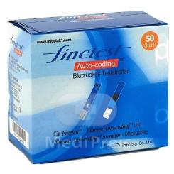 fintest Auto-coding™ Premium Blutzucker Teststreifen