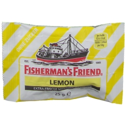 FISHERMAN'S FRIEND® Lemon ohne Zucker