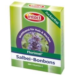 Florimel Salbei Bonbons mit Vitamin C zuckerfrei