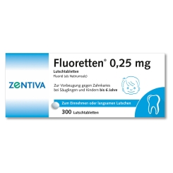 Fluoretten 0,25 mg Tabl.
