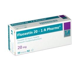 Fluoxetin 20 1A Pharma Tabletten