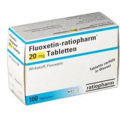Fluoxetin ratiopharm 20 mg Tabletten