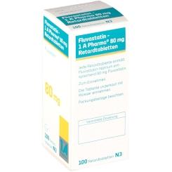 Fluvastatin 1 A Pharma 80 mg Retardtabletten