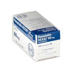 Fluvastatin Hexal 80 mg Retardtabletten