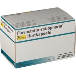 FLUVASTATIN ratiopharm 20 mg Hartkapseln