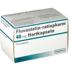 FLUVASTATIN ratiopharm 40 mg Hartkapseln