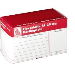 Fluvostatin AL 20 mg Kapseln