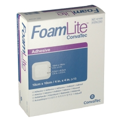 Foam Lite Convatec Adhesive 10 x 10 cm