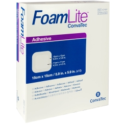 Foam Lite ConvaTec Adhesive 15 x 15 cm