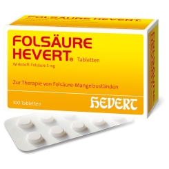 FOLSÄURE HEVERT® Tabletten