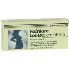 Folsäure Lomapharm 5mg Tabletten