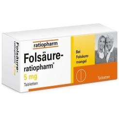 Folsäure-ratiopharm® 5 mg