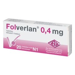 Folverlan® 0,4 mg Tabletten