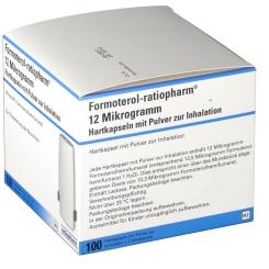 Formoterol Ratiopharm 12 µg 2 Inh. Inhalationskapseln