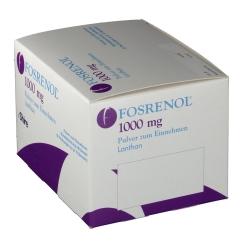 FOSRENOL 1000 mg Pulver zum Einnehmen