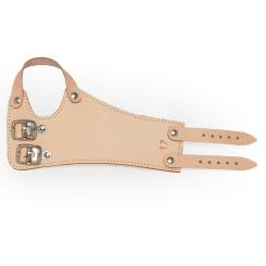 FRANK® Handgelenkriemen aus Leder mit 2 Schnallen Gr. 18 rechts