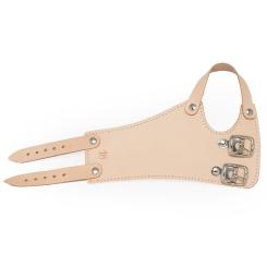 FRANK® Handgelenkriemen aus Leder mit 2 Schnallen Gr. 19 links
