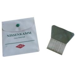 FRANK® Nissenkamm aus Metall