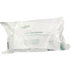 FRANK® Urin-Beinbeutel mit Rücklaufsperre und Ablauf, mit Vlies, gerader Ansatz, 750 ml