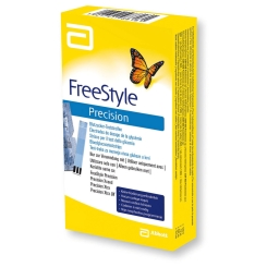 FreeStyle Precision Blutzucker-Teststreifen ohne Codierung