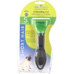 FURminator® deShedding Tool für kurzhaarige kleine Hunde