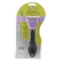 FURminator® deShedding Tool für langhaarige kleine Katzen