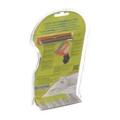 FURminator® deShedding Tool für langhaarige mittelgroße Hunde