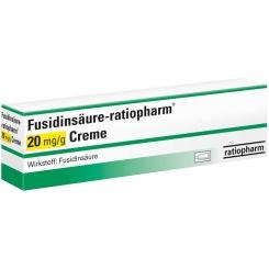FUSIDINSÄURE ratiopharm 20 mg/g Creme