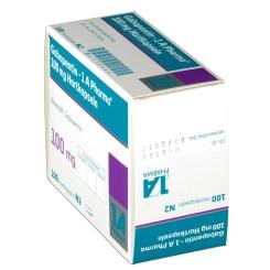 Gabapentin 1 A Pharma 100 mg Kapseln