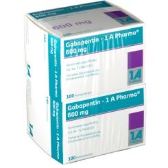 Gabapentin 1 A Pharma 600 mg Filmtabletten