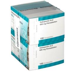 Gabapentin AbZ 600 mg Filmtabletten