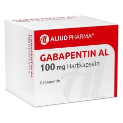 GABAPENTIN AL 100 mg Hartkapseln