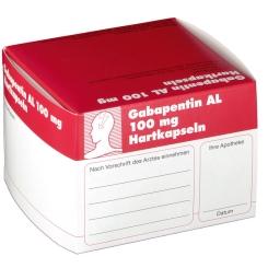 Gabapentin Al 100 mg Kapseln