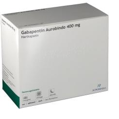 GABAPENTIN Aurobindo 400 mg Hartkapseln