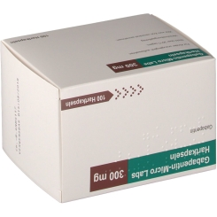 GABAPENTIN Micro Labs 300 mg Hartkapseln