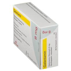 GALANTAMIN Glenmark 8 mg Hartkapseln retardiert