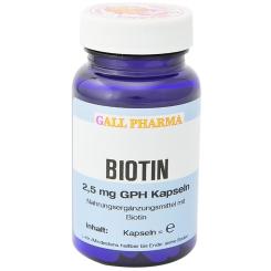 GALL PHARMA Biotin 2,5 mg GPH Kapseln