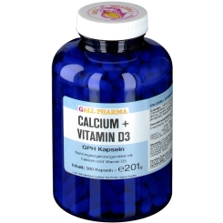 GALL PHARMA Calcium + Vitamin D3 GPH Kapseln
