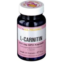 GALL PHARMA L-Carnitin 250 mg Kapseln