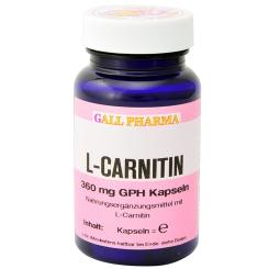 GALL PHARMA L-Carnitin 360 mg GPH Kapseln