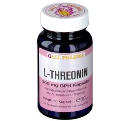 GALL PHARMA L-Threonin 500 mg GPH Kapseln