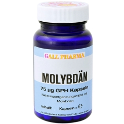 GALL PHARMA Molybdän 75 µg GPH Kapseln